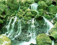Каскадный водопад, скринсейвер