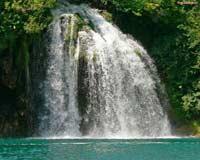 Африканский водопад, скринсейвер