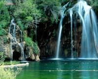 Несколько водопадов, скринсейвер
